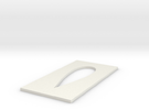 Omnimac Pitot Tube Mount V1.2 (cutout Template) in White Strong & Flexible