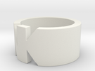 NK- Ring Size 5.5 in White Strong & Flexible