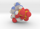 ATP molecule (x40,000,000, 1A = 4mm) in Full Color Sandstone
