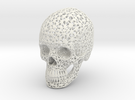 Lace Skull, Full Size in White Strong & Flexible