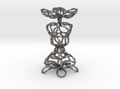 Knot Sculpture in Polished Nickel Steel