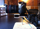 DSLR+Asus Hotshoe/Handheld Mount | RGBDtoolkit  in White Strong & Flexible