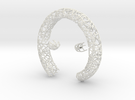 Bracelet (piece 1, 2 and 3) in White Strong & Flexible