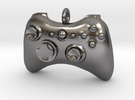 Xbox 360 Controller Pendant (Large) in Polished Nickel Steel