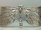 Dragonfly16cm Bracelet (small) in Premium Silver