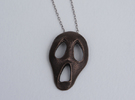 Scream in Polished Bronze Steel