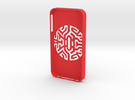 iPIphone 4/4s Case Goth Tribal in Red Strong & Flexible Polished