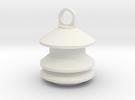 Model 2 Siren Keychain in White Strong & Flexible