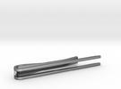 Minimalist Tie Bar - Parallels in Premium Silver