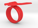 GG Rage Ring (Sz 8-15) in Red Strong & Flexible Polished