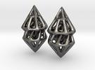 Turn One Pair in Polished Nickel Steel