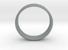 Ring Let Love Last Simple (size 6) in Polished Metallic Plastic