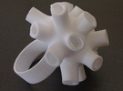 Tubey Ring  in White Strong & Flexible
