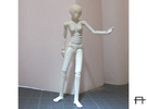 1/20 scale ALPHA EGO BJD kit, Female V02 in Frosted Ultra Detail