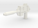 Lateral Sweep Laser Pistol in White Strong & Flexible