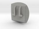 Bionicle - Nuva Symbol - Fire in Metallic Plastic