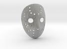 Hocckymask in Metallic Plastic