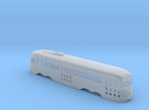 N Scale Prewar PCC PTC Version BODY #1 in Frosted Ultra Detail