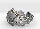Cloud Ships Lightning, Ring Size 6 in Polished Silver
