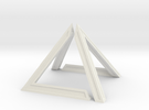 David Pyramid Thick V58.3 - 6cm in White Strong & Flexible
