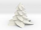 Christmas tree - Sapin De Noel in White Strong & Flexible