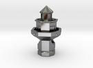 Hilton Head Lighthouse in Premium Silver