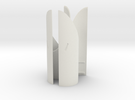 Engines - Front Heatshields V0.1 in White Strong & Flexible