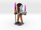 Voxel Art: Miguel in Full Color Sandstone