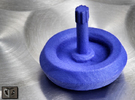 Spinning Top in Blue Strong & Flexible Polished