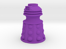 Dalek Post Version B in Purple Strong & Flexible Polished
