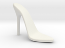 Women High Heel Base Left Shoe in White Strong & Flexible