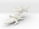 Rocket Crocodile from the World of Tomorrow in White Strong & Flexible
