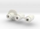 Split-frame Gears For Mainline OO locos. in White Strong & Flexible