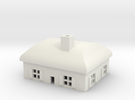 1/600 Village House 2 in White Strong & Flexible