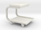 1/10 Scale Mechanics Stool in White Strong & Flexible