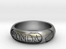 "Honda Tire Size Q - 57 - 2"" 5/16 in Raw Silver"