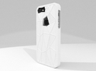 Faceted iPhone 5/5s Case in White Strong & Flexible Polished