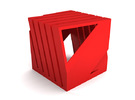 Notestand Two in Red Strong & Flexible Polished