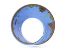 Super Mario Mobius Strip Small (2.8 inches) in Full Color Sandstone