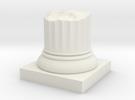 Pillar Broken Stump Original Lrg in White Strong & Flexible