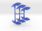 Plasma Assault Rifle Pack in Blue Strong & Flexible Polished