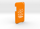 iPod Touch Cover in Orange Strong & Flexible Polished
