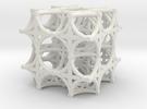 Torus Truss (2 x 2 x 2) in White Strong & Flexible