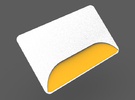 MTA New York Subway Metrocard Holder 2.0 in White Strong & Flexible