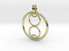 Kalyke pendant in 18K Gold Plated