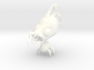 Cragpole in White Strong & Flexible Polished