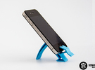 Smartphone Holder in Blue Strong & Flexible Polished