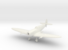 1/144 Spitfire Mk Vc Wheels Down in White Strong & Flexible