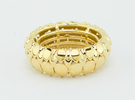 LEAFY Ring Size 7 (17.3mm) in 18K Gold Plated