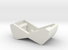 Switch Cover, Klixon 20TC (v0.6) Smooth Front in White Strong & Flexible